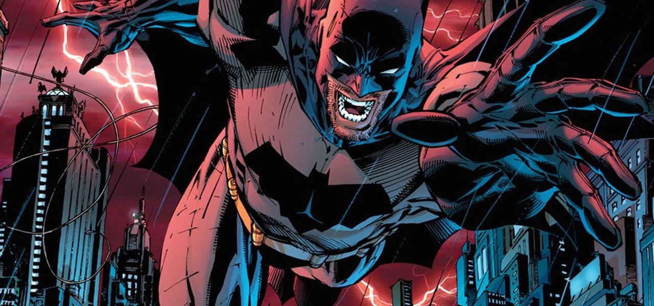 Batman, dibujado en la portada de All Star Batman