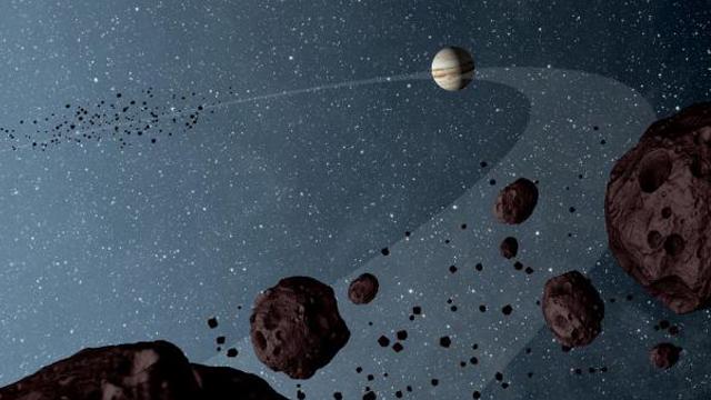 Júpiter, Distancia, Sol, Formación