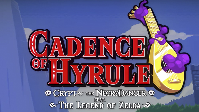 Legend of Zelda, Cadence of Hyrule, Switch, GDC