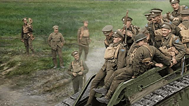 Primera Guerra Mundial a colores por Jackson