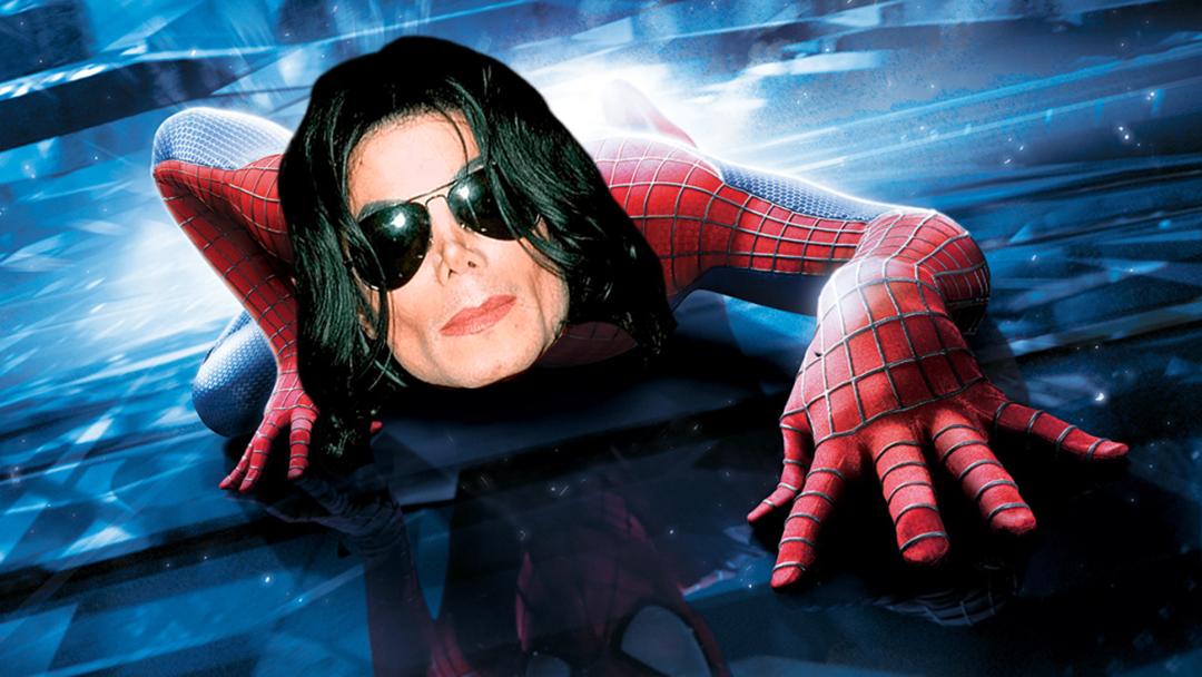 Michael Jackson, Stan Lee, Spider-Man, Marvel