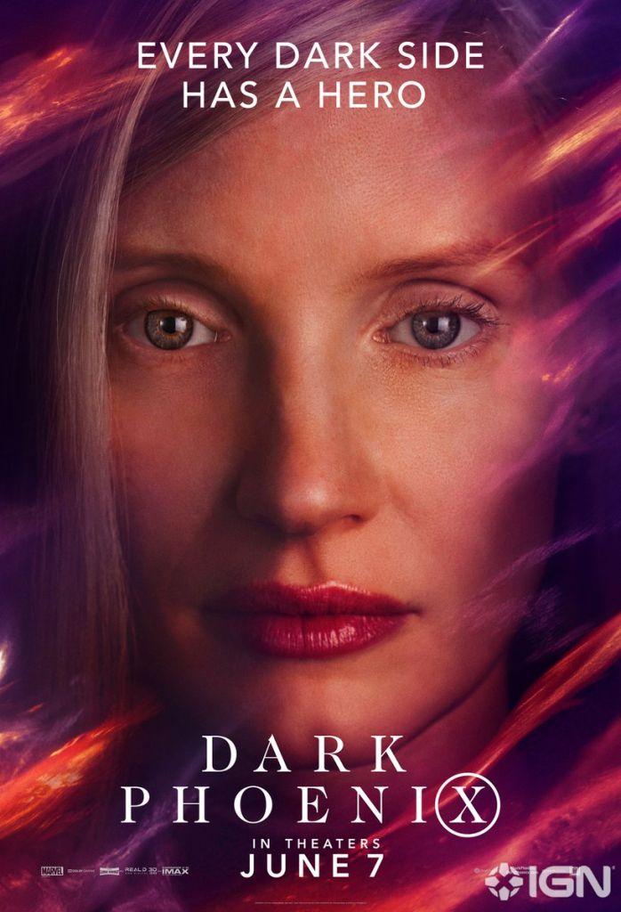 Dark Phoenix, Póster, Película, Reparto