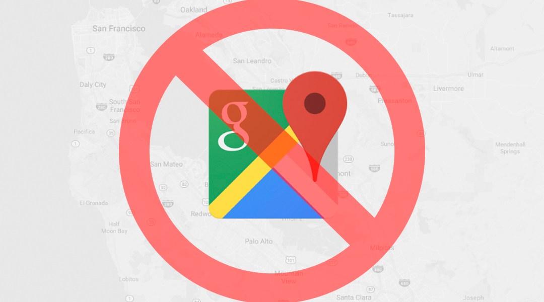 Google Maps, Google Location History, Inhabilitar, Rastreo