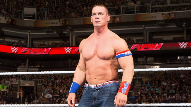 EL luchador y actor John Cena