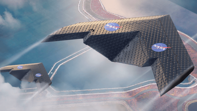 Morphing Wing MIT NASA