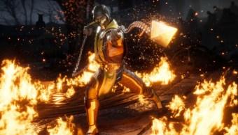 El famoso Scorpion de Mortal Kombat