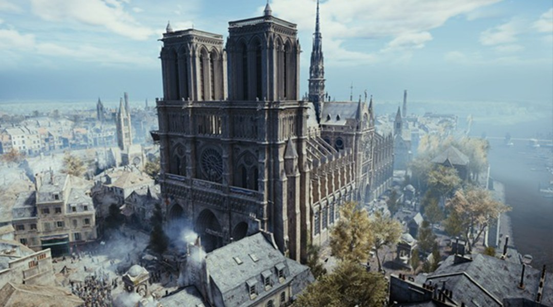 Notre Dame, Assassin's Creed, Unity, Ubisoft