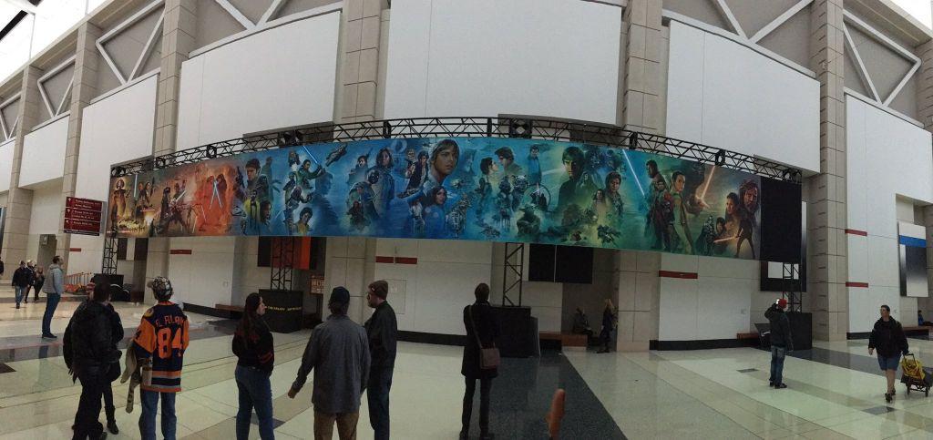 Star Wars, Celebration, Mural, 2019