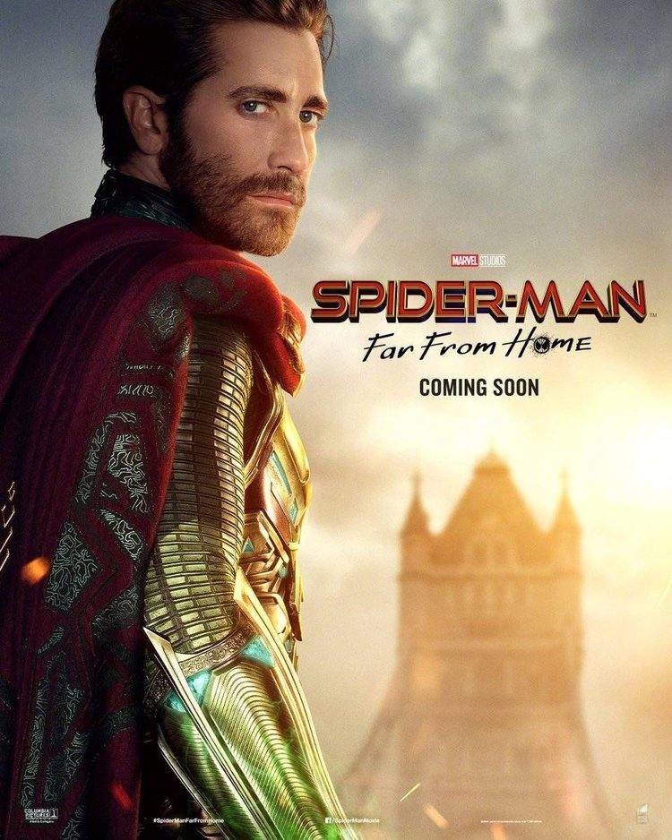 Spider Man, Far From Home, Pósters, Estreno