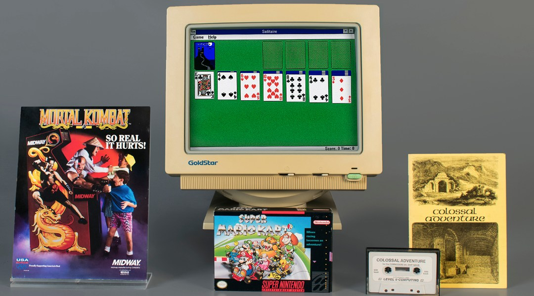 Mortal Kombat, Mario Kart, Salon Fama, Solitario