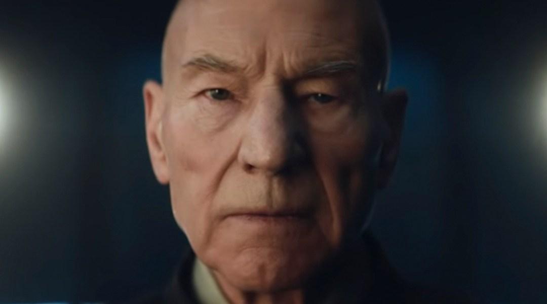 Star Trek, Patrick Stewart, Picard, Teaser