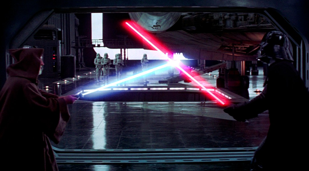 Star Wars, Obi Wan Kenobi, Darth Vader, Duelo