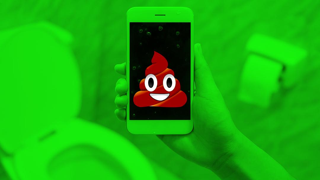 tu Teléfono se llena de Bacterias en el baño