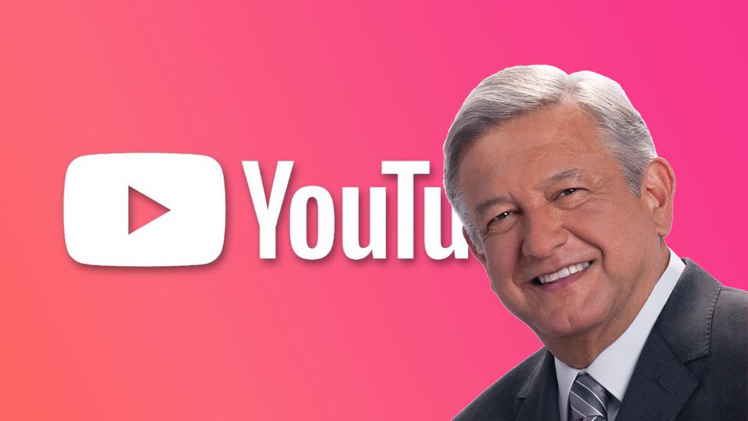 Andrés Manuel López Obrador, AMLO, Botón Oro, YouTube