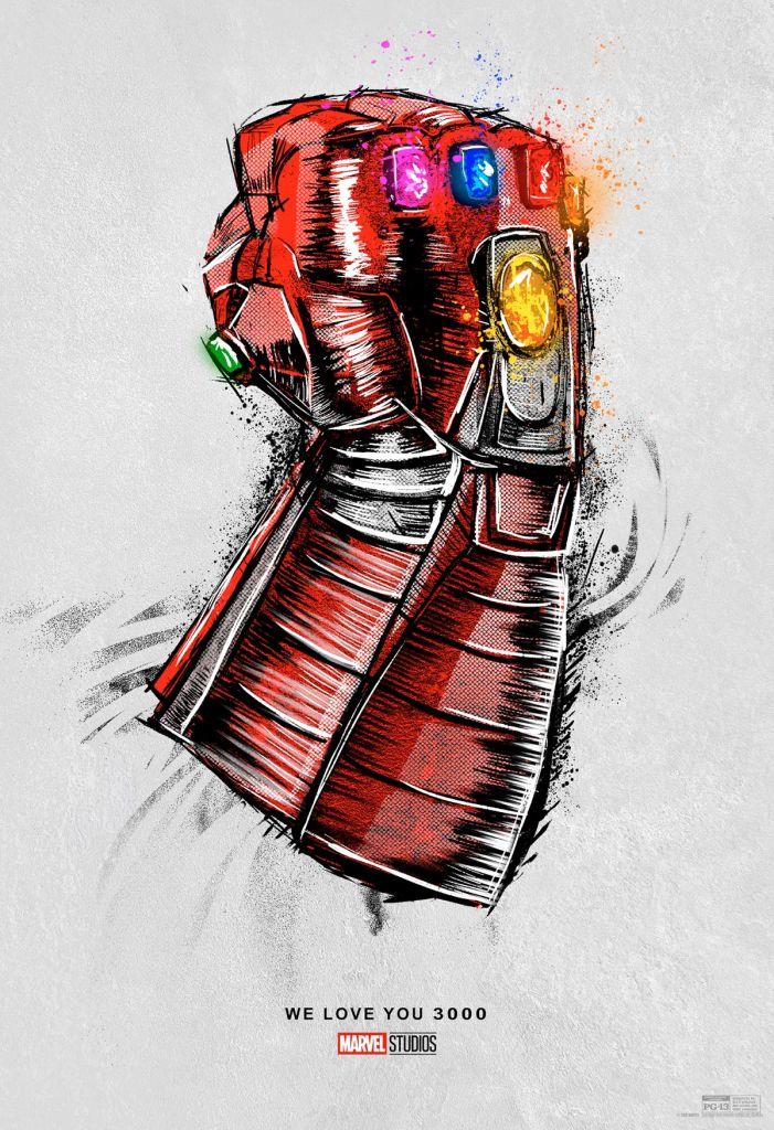 Avengers Endgame, Reestreno, Póster, Fecha