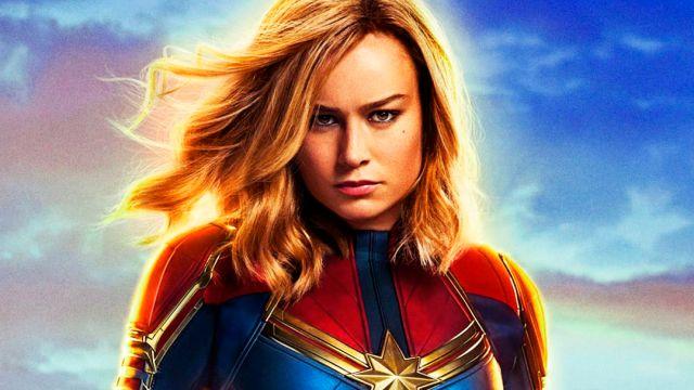 Captain Marvel, Brie Larson, Traje, Película