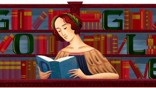 Elena Cornaro Piscopia, Filosofa, Google, Doodle