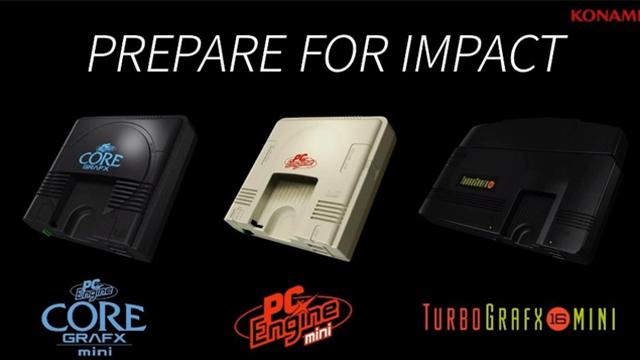 Konami, Turbografx-16 Mini, E3, Juegos