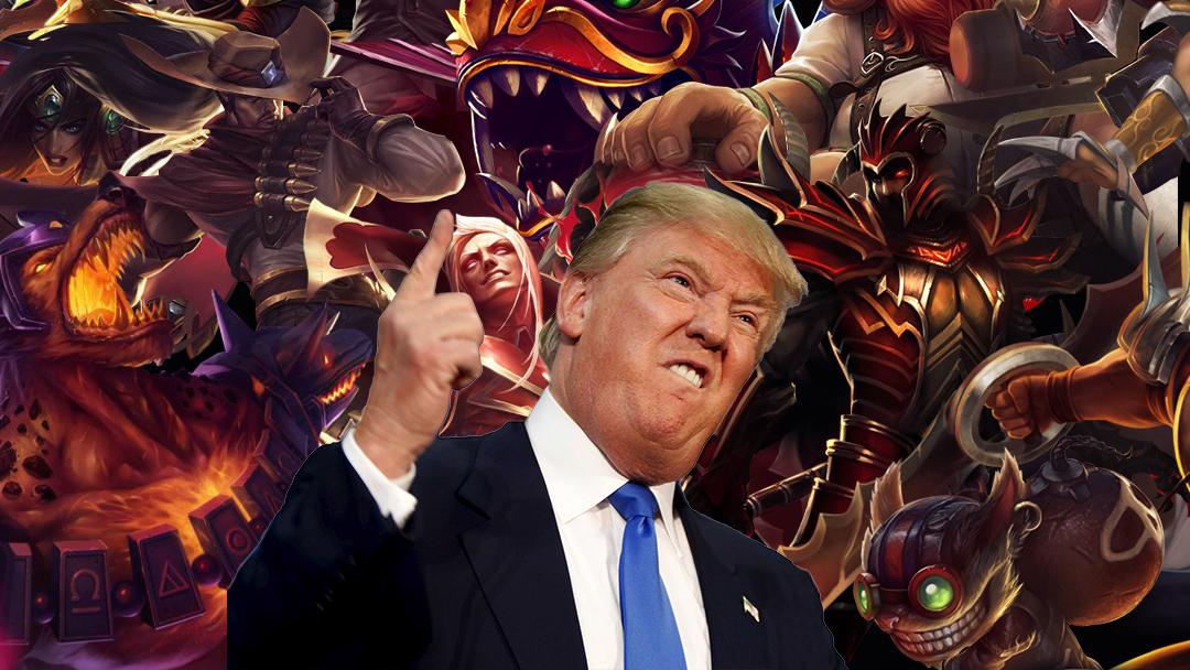 El presidente de Estados Unidos con League of Legends