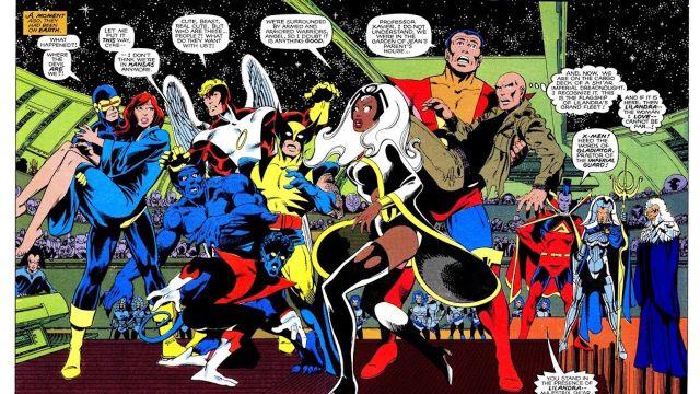 Foto X-Men Chris Claremont 5 Junio 2019