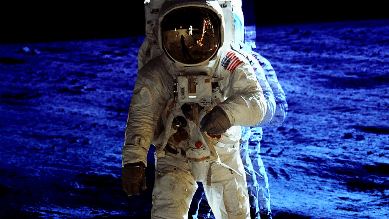 Imágen Primer alunizaje Apollo 11,
