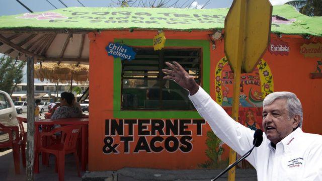 AMLO presenta empresa pública de internet gratis