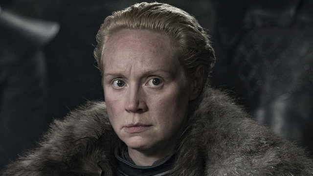 18/07/19 Brienne De Tarth, Game Of Thrones, Gwendoline Christie, Emmy