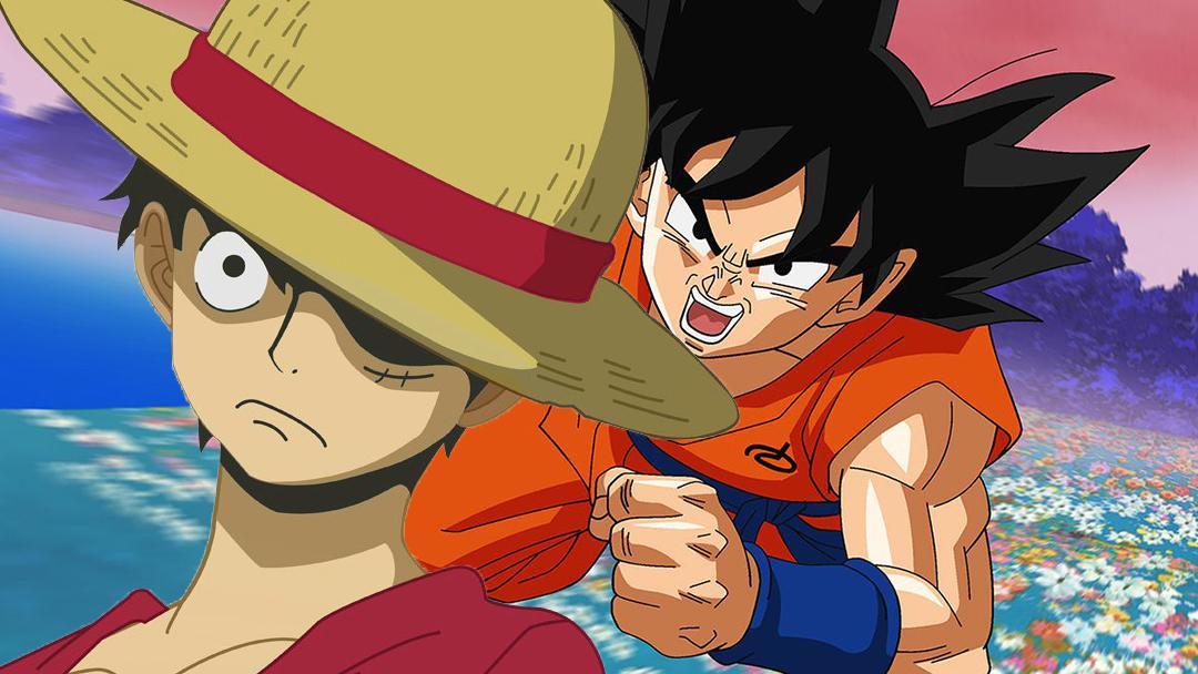 Dragon Ball One Piece Luffy Goku