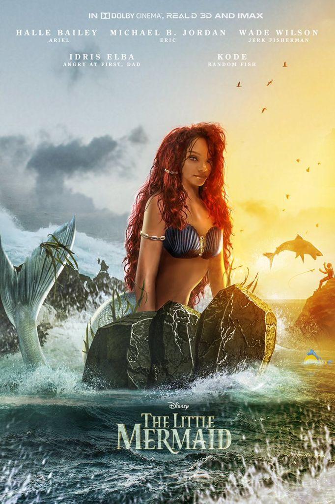 Halle Bailey, La Sirenita, Ariel, Película