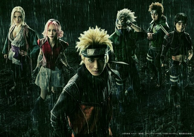 25/0719 Naruto, Live Action, Personajes, Héroes
