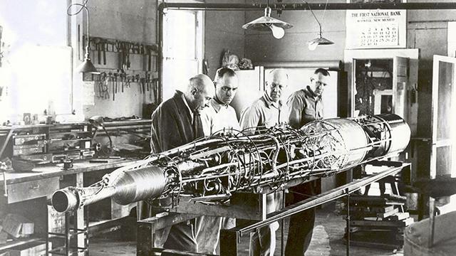 Robert Goddard Primer Cohete