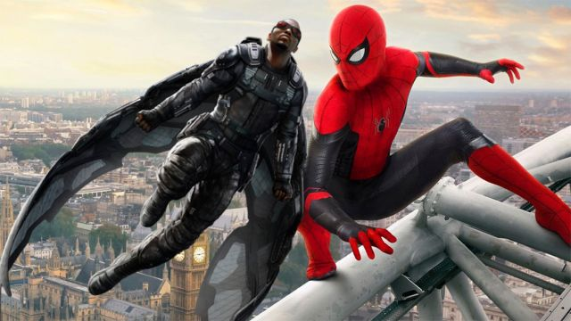 Spiderman Far From Home, Captain America, Sam Wilson, Película