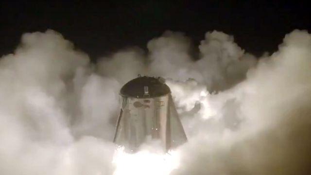 Starhopper Despegue SpaceX