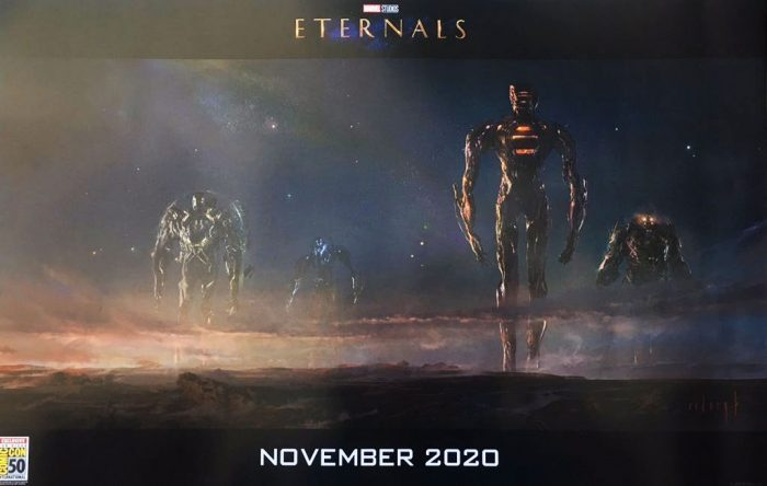 22/07/19 The Eternals, Celestials, Fase 4, MCU