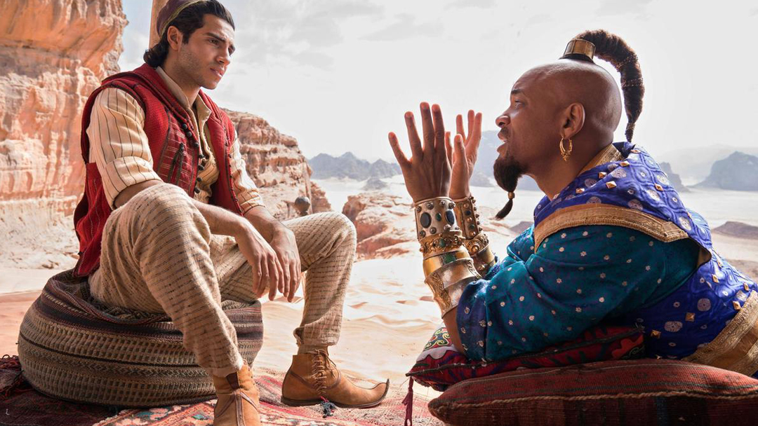 27/08/19 Aladdin, Live Action, Disney, Desert Moon