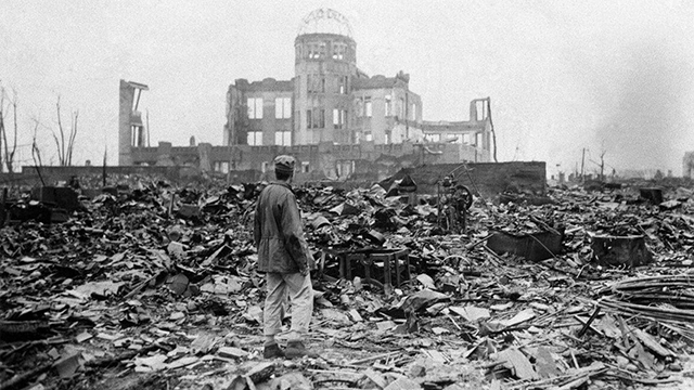 Devastación Bomba Atómica