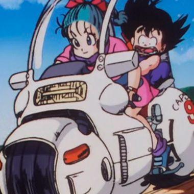 08/08/19 Dragon Ball, Bulma, Moto, Capsule Corp