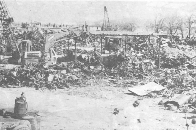 Imágenes del Yonke Fénix donde vendieron la bomba de Cobalto-60.