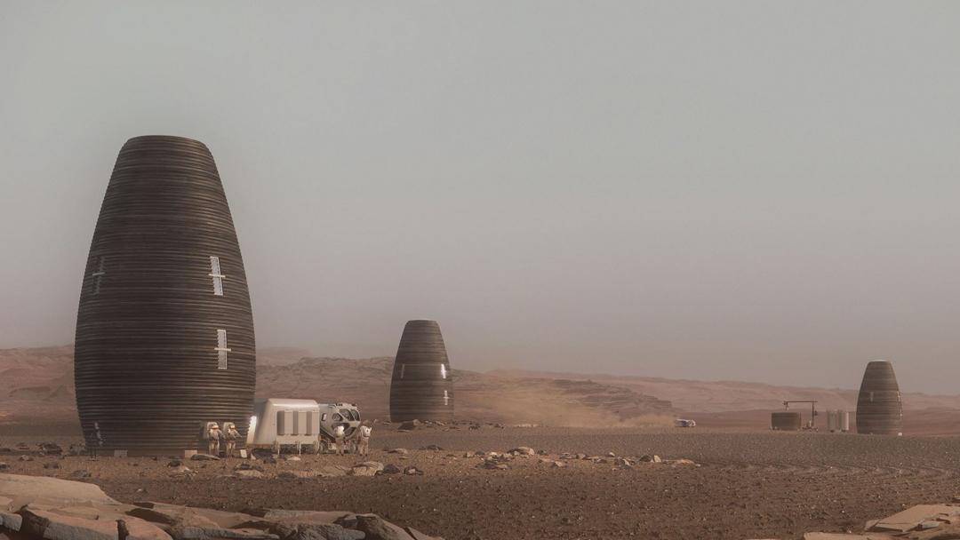 19/08/19 Marte, NASA, Casas, 3D
