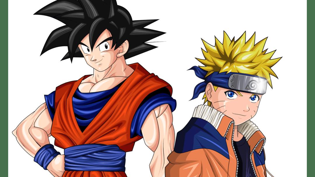 Naruto y Goku