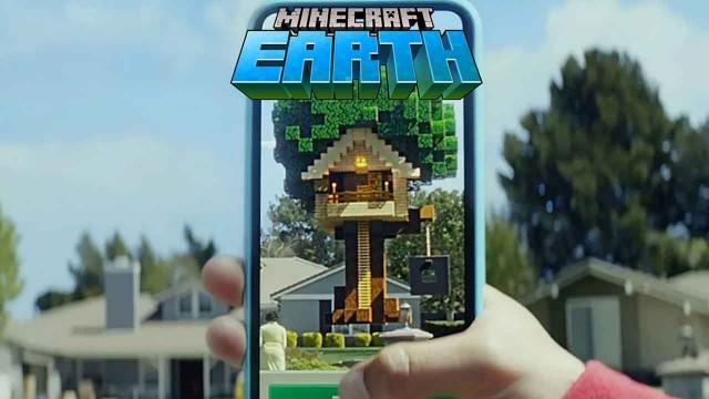 logo minecraft earth qué es la realidad aumentada