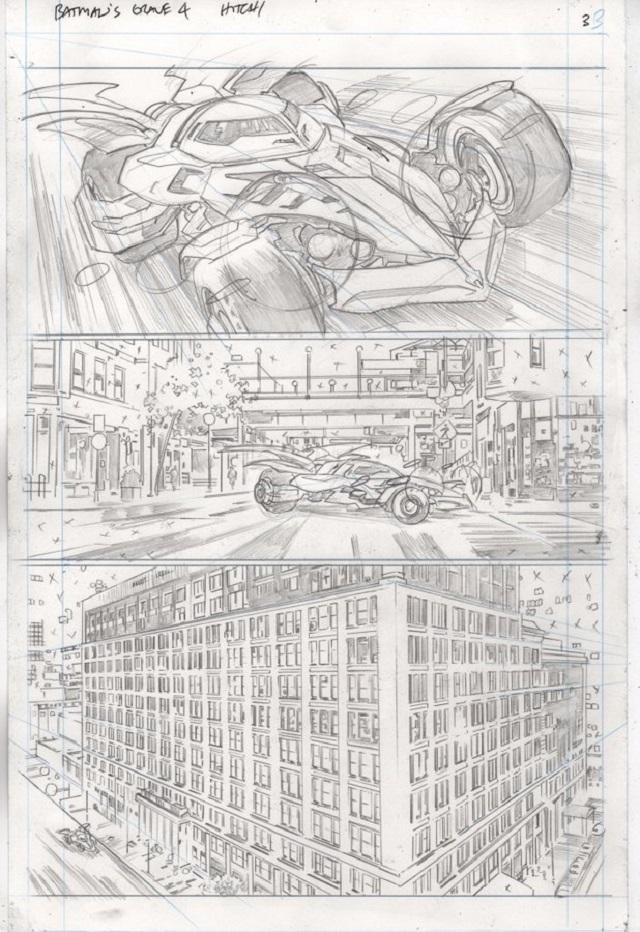 Nuevo batimovil en The Batmans Grave Comic