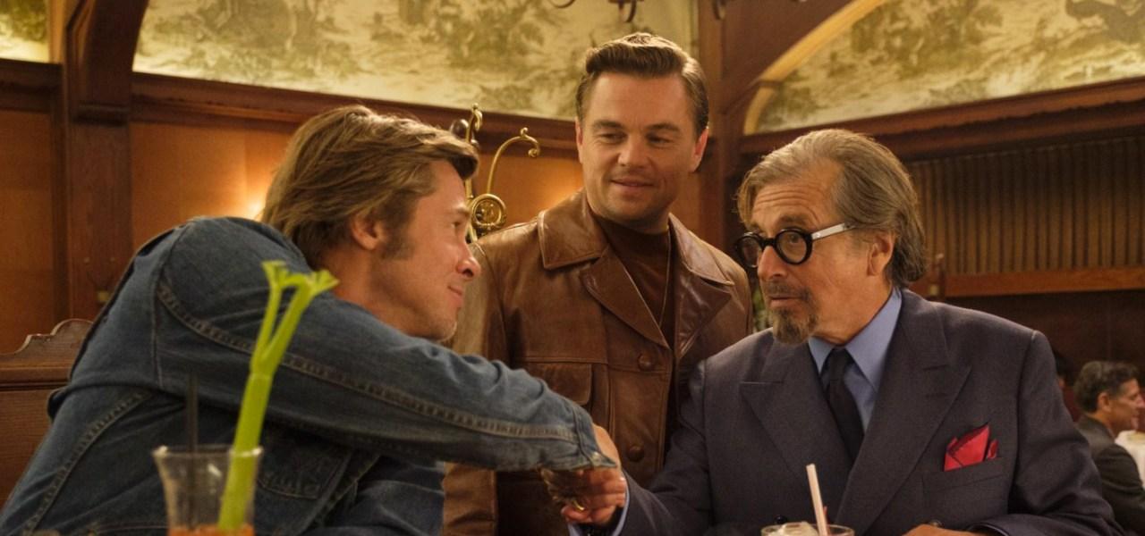 Una imagen de la película Once upon a time in hollywood
