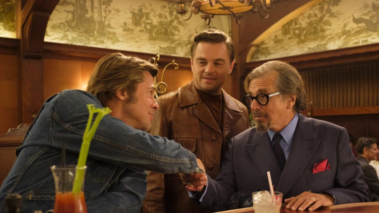 Una imagen de la película Once upon a time in hollywood
