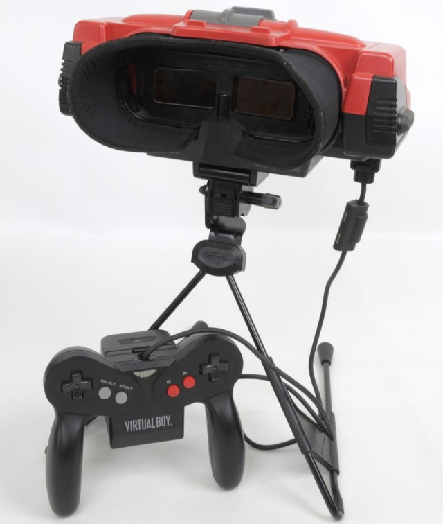 Set de virtual boy de nintendo 1995