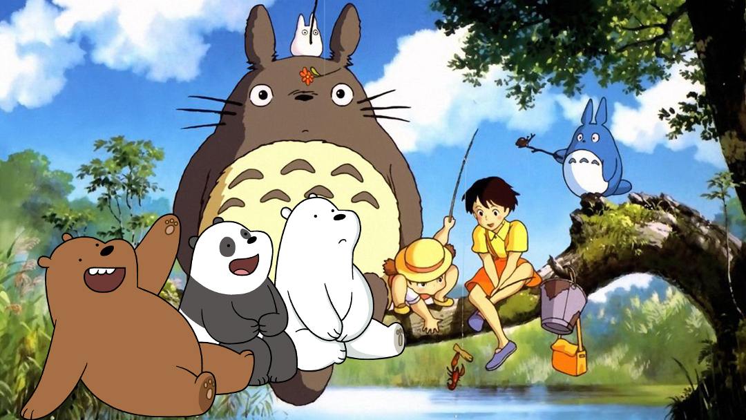 16/08/19 We Bare Bears, Mi Vecino Totoro, Escandolosos, Homenaje