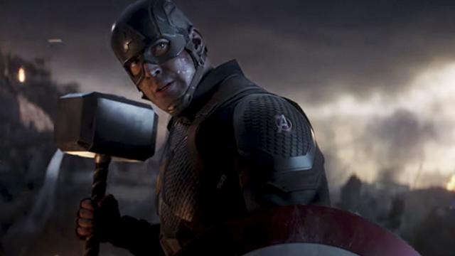 12/09/19, Avengers Endgame, Batalla Final, Captain America, Error