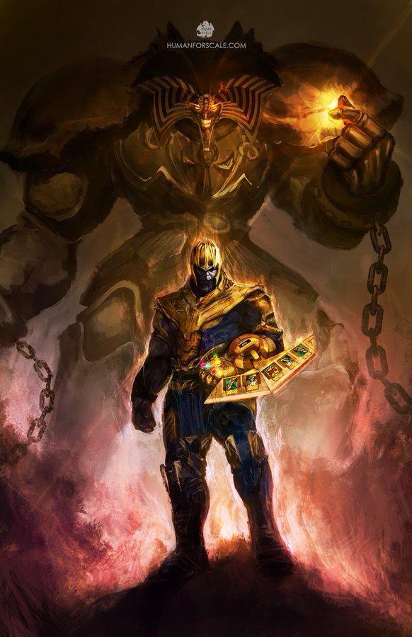 09/09/19, Avengers Endgame, Yu Gi Oh, Thanos, Crossover