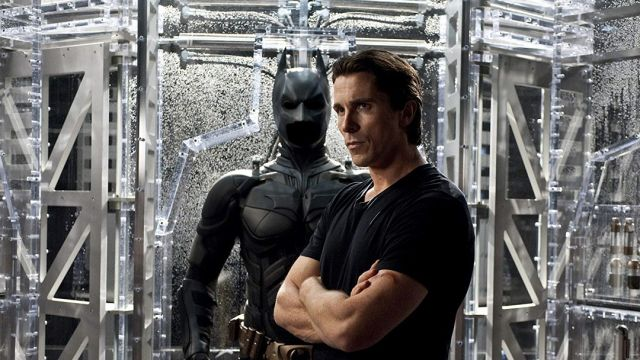 Christian Bale Batman Robert Pattinson