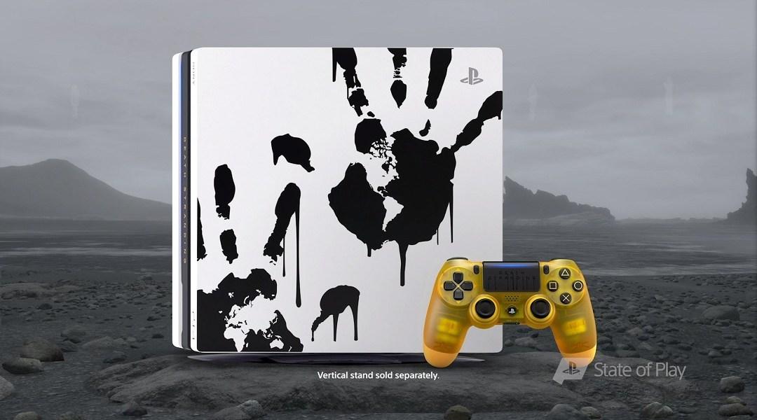 Consola PS4 edición especial Death Stranding